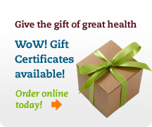 Wow! Gift Certificates are available!
